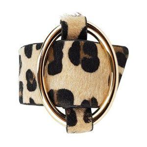 Jewelry - ANIMAL PRINT BRACELET - NATURAL